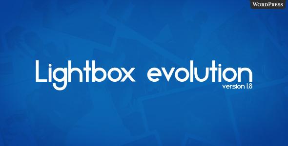 ✅ Lightbox Evolution for WordPress Nulled