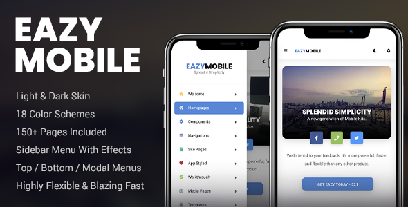 ✅ Eazy Mobile | PhoneGap & Cordova Mobile App Nulled