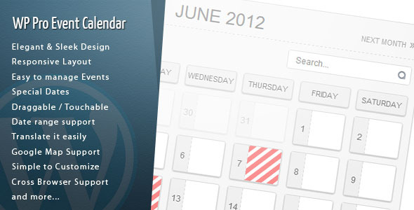✌WordPress Pro Event Calendar Nulled