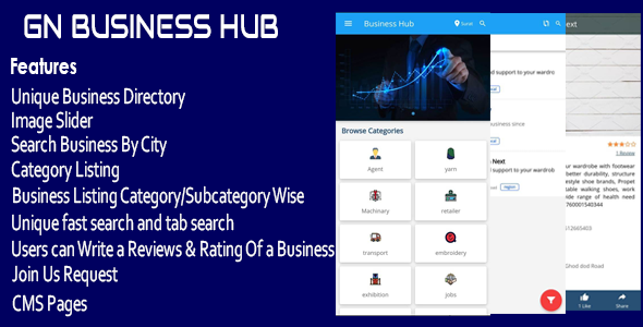 ✅ GN Business Hub – Ionic Mobile App Nulled