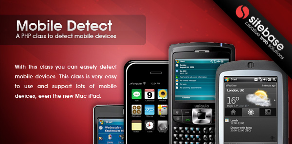✅ PHP Mobile phone detection Nulled