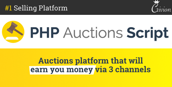 ✨PHP Auctions Script Nulled