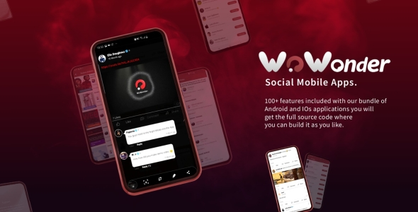 ✌Mobile Native Social Timeline Applications – For WoWonder Social PHP Script Nulled