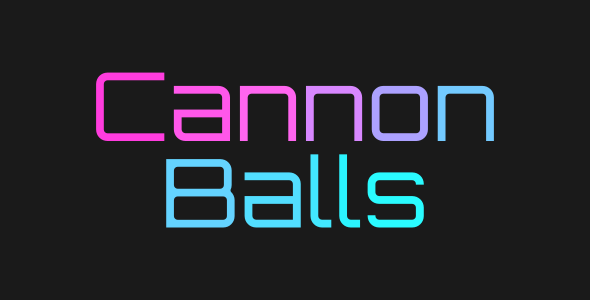 ✅ Cannon Balls | Html5 Mobile Game | android & ios Nulled