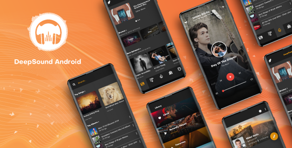 ✨DeepSound Android- Mobile Sound & Music Sharing Platform Mobile Android Application Nulled