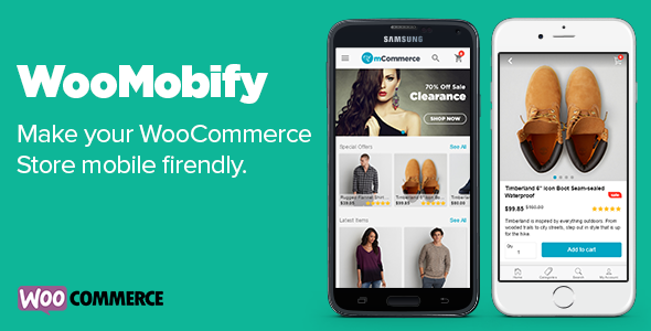 ✅ WooMobify – WooCommerce Mobile Theme Nulled