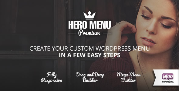 ✌Hero Menu – Responsive WordPress Mega Menu Plugin Nulled