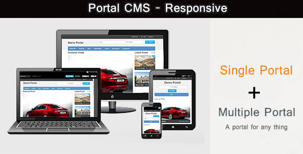 ✨Portal CMS PHP Script Nulled