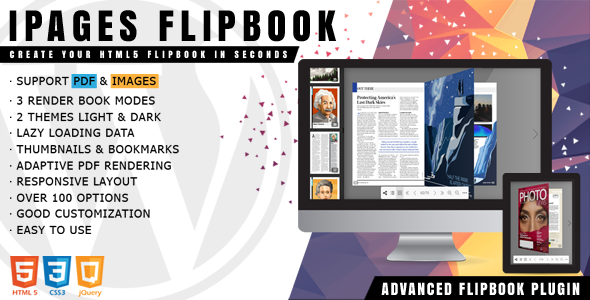 ✅ iPages Flipbook For WordPress Nulled