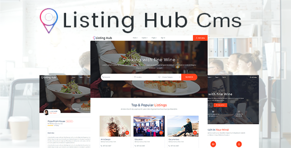 ✌Listing Directory – Cms Directory Php Script Nulled