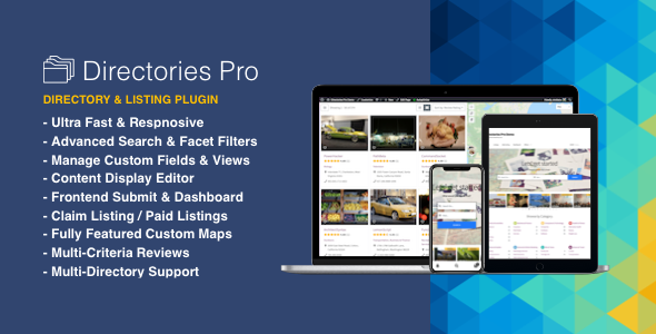 ✨Directories Pro plugin for WordPress Nulled