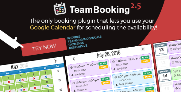 ✨Team Booking – WordPress booking system Nulled