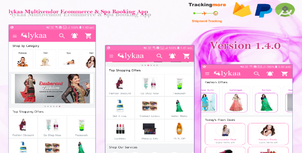 ✌lykaa Multivendor Ecommerce & Spa Booking App Nulled