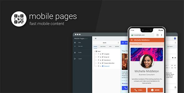 ✅ Mobile Pages Nulled