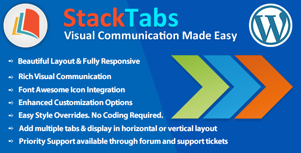 ✌StackTabs for WordPress Nulled