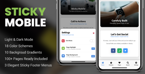 ✅ Sticky Mobile | PhoneGap & Cordova Mobile App Nulled