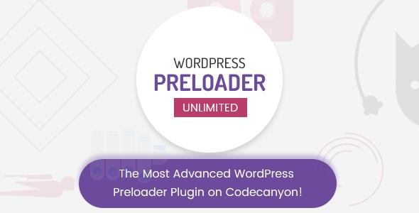 ✅ WordPress Preloader Unlimited Nulled