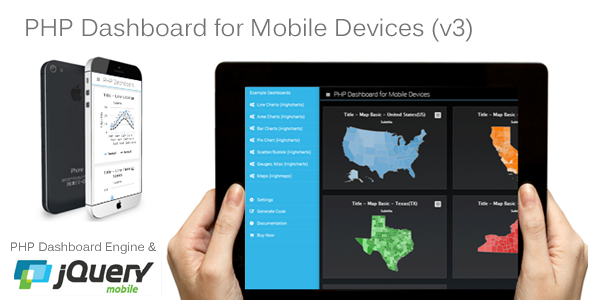 ✨PHP Dashboard v3 (for mobile devices – 100% source code included) Nulled