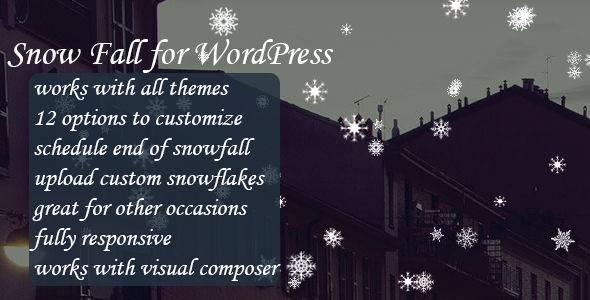 ✨SnowFall for WordPress Nulled