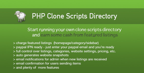 ✅ PHP Clone Scripts Directory Nulled