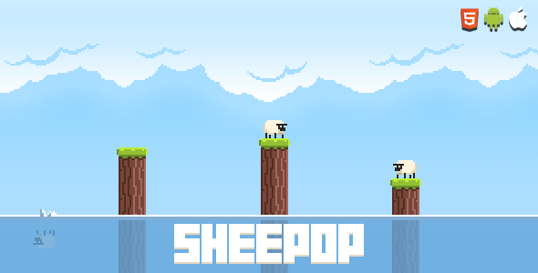 ✌Sheepop – HTML5 Mobile Game Nulled
