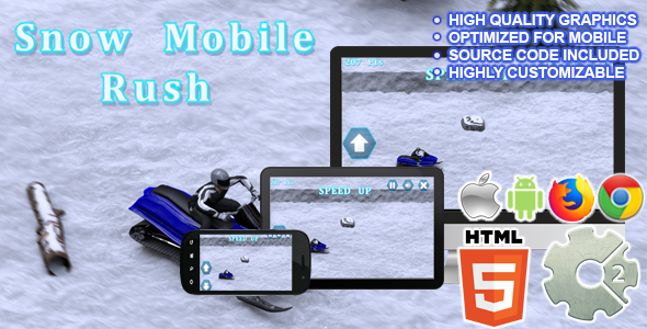 ✌Snow Mobile Rush ( CAPX + HTML5 ) Nulled