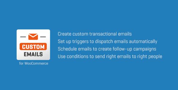 ✌WooCommerce Custom Emails Nulled