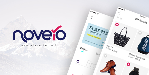 ✨Novero- A Mobile Payments System Template Nulled