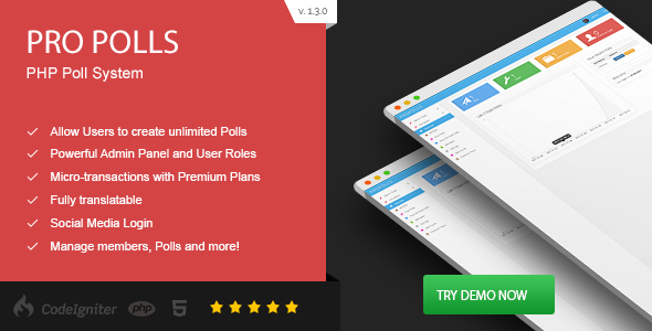 ✅ Pro Polls – PHP Poll Vote Script Nulled