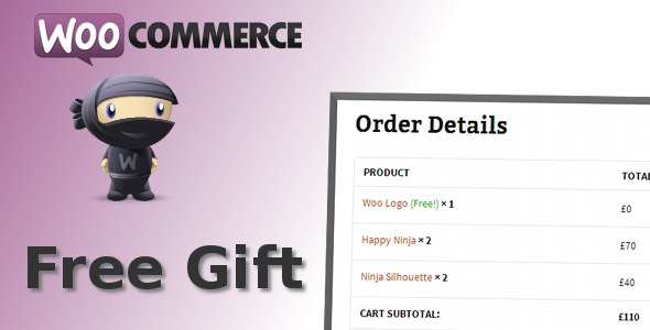 ✅ WooCommerce Free Gift Nulled