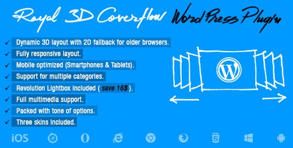 ✌Royal 3D Coverflow WordPress Plugin Nulled
