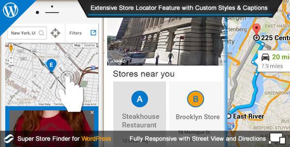 ✨Super Store Finder for WordPress Nulled