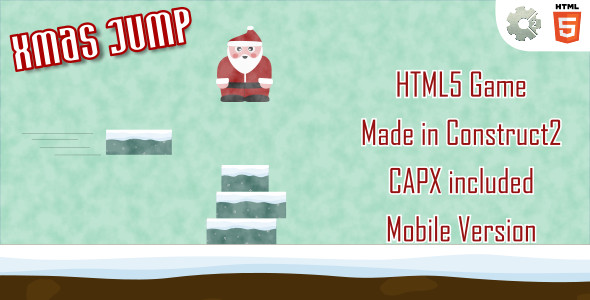 ✅ xmasJump – HTML5 Casual Game (+ mobile version) Nulled