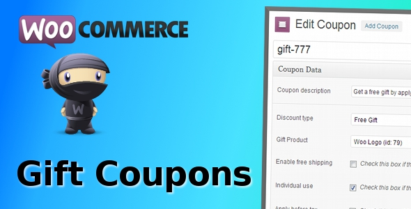 ✨WooCommerce Gift Coupons Nulled