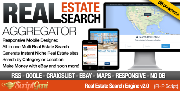 ✨Instant Real Estate Search Engine Nulled
