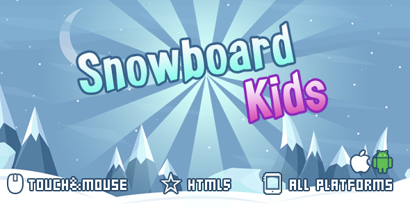 ✌snowboard kids-html5 mobile game(capx) Nulled