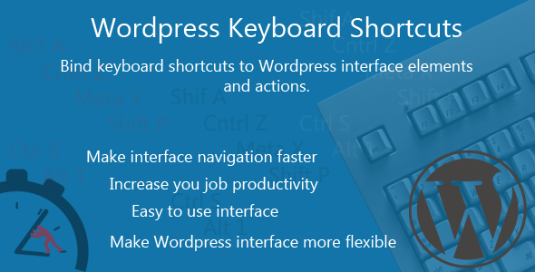 ✌WordPress Keyboard Shortcuts Nulled