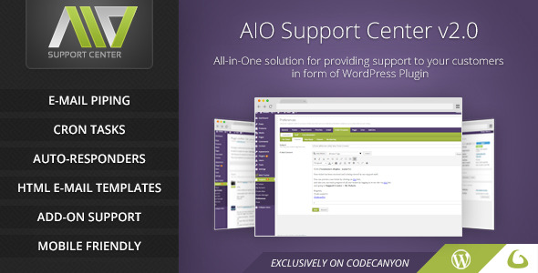 ✌AIO Support Center – WordPress Ticketing System Nulled