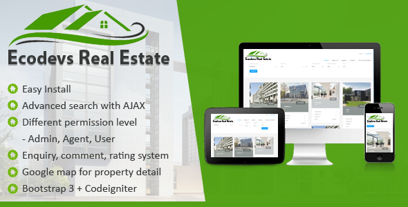 ✅ EcoDevs Real Estate Nulled