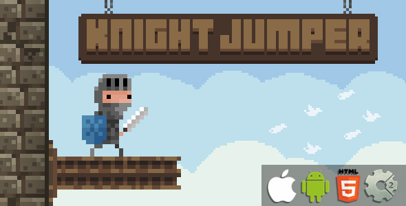 ✅ Knight Jumper – HTML5 Game + Mobile Version! (Construct 2 / CAPX) Nulled
