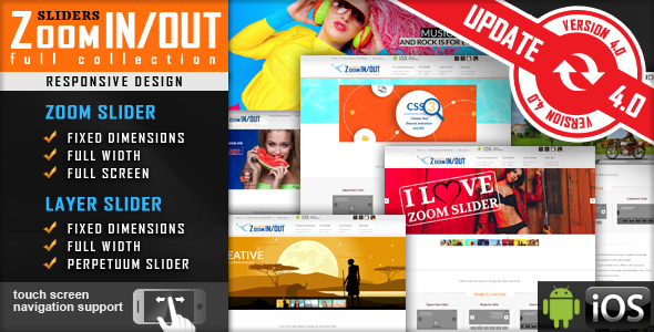 ✅ Jquery Slider Zoom In/Out Effect Fully Responsive Nulled