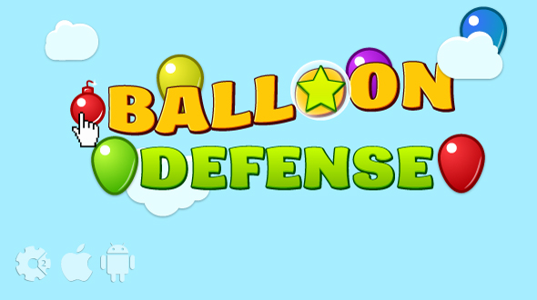 ✨Balloon defense – HTML5 game. Construct2 (.capx) + mobile + cocoon ADS Nulled
