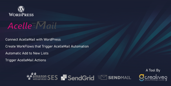 ✌AcelleMail WordPress WorkFlows Nulled