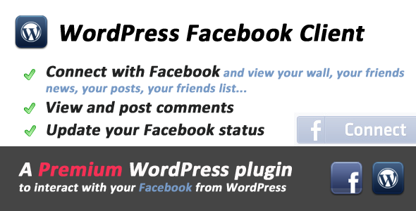 ✅ Facebook Client for WordPress Nulled