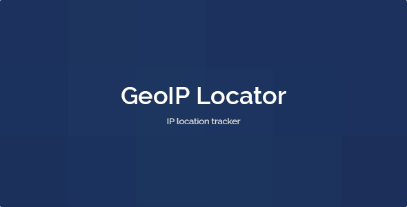 ✅ GeoIP Locator Nulled