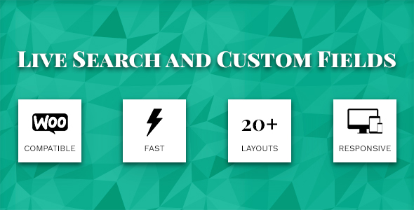 ✨Live Search and  Custom Fields – WordPress Filter, search & WooCommerce Product Filter Nulled