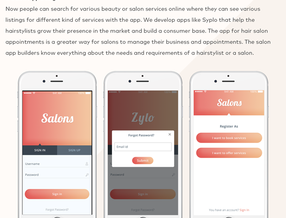 ✅ Salon Beauty Service Appointment Booking Android Mobile Application Template Nulled