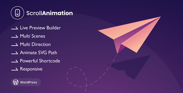 ✌Scroll Animation – Scroll Magic for WordPress Nulled