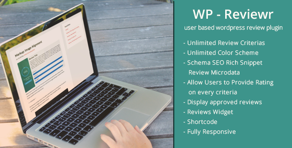 ✌WP Reviewr Pro | User Based Review Plugin for WordPress Nulled