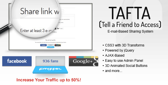 ✅ TAFTA — Tell a Friend to Access Nulled